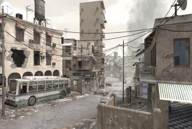 Crossfire - map - COD4 MW